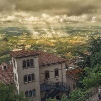 С высоты Сан-Марино :: Сергей Шруба