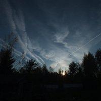 Вечернее небо :: Андрей Кротов