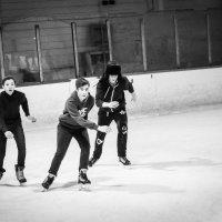 Три богатыря на льду :: Олег Отт