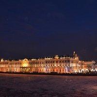Вечерний Санкт-Петербург. Зимний дворец :: Николай