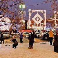 Москва в сиянии огней. :: Лара ***