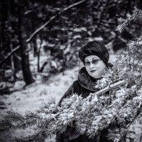Lady winter :: juriy luskin