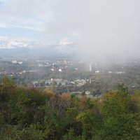 На Нальчик надвигается туман. :: Вячеслав Медведев