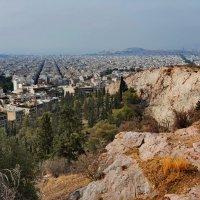 Вид на Афины с холма Филопаппу :: Владимир Брагилевский