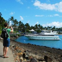 Турист на острове МЕЧТЫ. Австралия. :: Лара Гамильтон