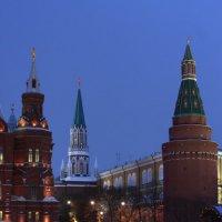Вечерняя Москва :: lady-viola2014 -