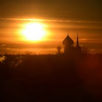 Купола на закате :: Наталья Левина