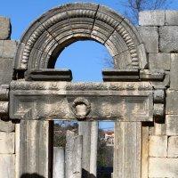 Древняя синагога в национальном парке Барам , римско-византийского периода  , относят ко II веку н. :: vasya-starik Старик