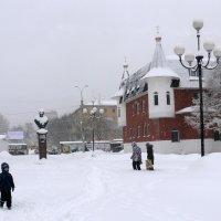 Самара снежная :: Александр Алексеев