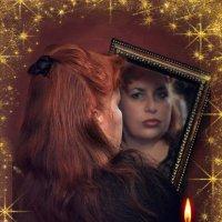 Вечером свечу зажгу, Распущу я длинны косы, Буду в зеркало глядеть, Задавать судьбе вопросы. :: ALISA LISA