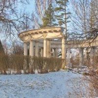 В аллеях парка - изваянья Античных символов-богов :: Алексей Михалев