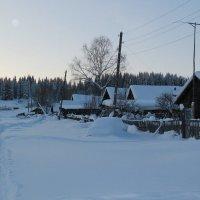Деревня зимой :: Наталья Воронцова