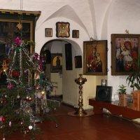 Рождество в монастыре :: Валерий Чепкасов