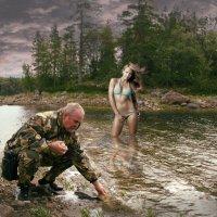 Золотая Рыбка Белого моря :: Владимир Гурьянов