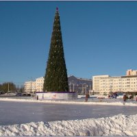 Морозный Рождественский день. :: Роланд Дубровский