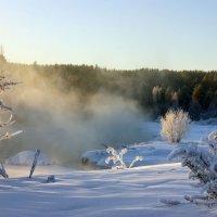 Речка замерзает. :: Наталья