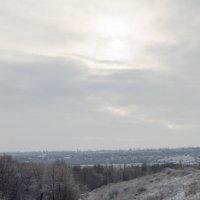 Берег зимнего Днепра :: Сергей Давыденко