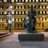 Санкт-Петербург - 2017 Памятник Петру I на Дворцовой набережной :: Елена Барбарич