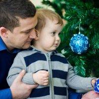 Папа и сын :: Юрий Солохин