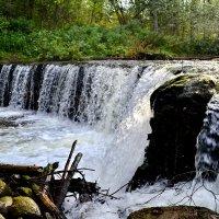 Водопад на Белой. :: Константин Иванов
