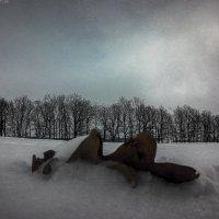 Дубовый лист в снегу :: Franky Fraker