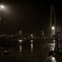 дождливая портовая тоска :: Константин Сытник