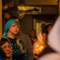 лица на литургии :: Мария Корнилова
