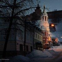Чем гуще тьма, тем храм светлей в ночи :: Denis Makarenko