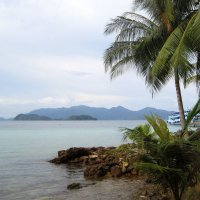 Вид на остров Ко Чанг с маленького островка-заповедника. :: Лариса (Phinikia) Двойникова