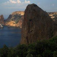 Яшмовый пляж Севастополь мыс Фолент :: Роза Бара