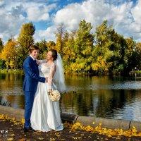 свадьба в октябре в парке горького :: Егор Чеботаренко
