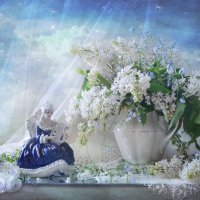 ...и музыку весны лелея,  старинной арфою звучит... :: Валентина Колова