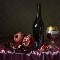 Гранаты с вином. :: Людмила Костюченко