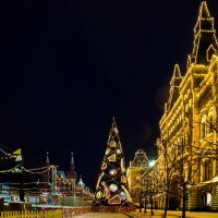 елка на Красной площади. :: Валерий Гудков