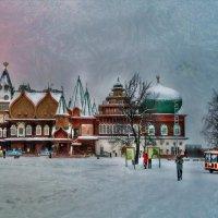 В Коломенском стоит такой дворец :: Ирина Данилова