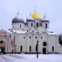 Софийский Собор - гордость Новгородского Кремля :: Ольга Чистякова