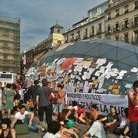 Здравствуй  Мадрид ! Так  бастуют  испанцы. :: Виталий Селиванов