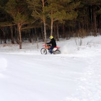 Зимний мотоспорт . :: Мила Бовкун