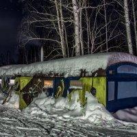 evening at the ski base :: Dmitry Ozersky