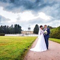 жених и невеста в Архангельском :: Егор Чеботаренко