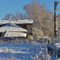 Теплый дом . Возраст около 200 лет . :: Святец Вячеслав