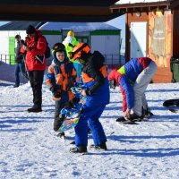 Лыжам все возрасты покорны! :: надежда