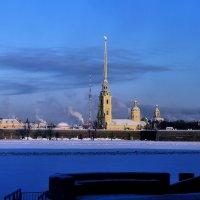 Петропавловская крепость :: АЛЕКСАНДР СУВОРОВ