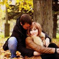 Двое в парке :: Любовь