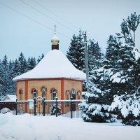 Морозы. Церквушка. :: e.s. nikol
