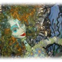 А вот и ветви..и русалка....все так, как Пушкин рассказал.... :: Tatiana Markova