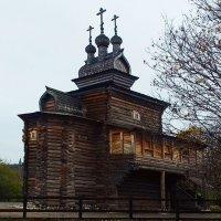 Церковь Святого Георгия из Архангельской области :: Николай Дони