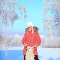 мороз и солнце... :: Елена Инютина