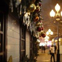 Старый Арбат на Старый Новый год :: Оксана Пучкова