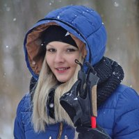 Спортсменка,красавица... )) :: Юрий Анипов